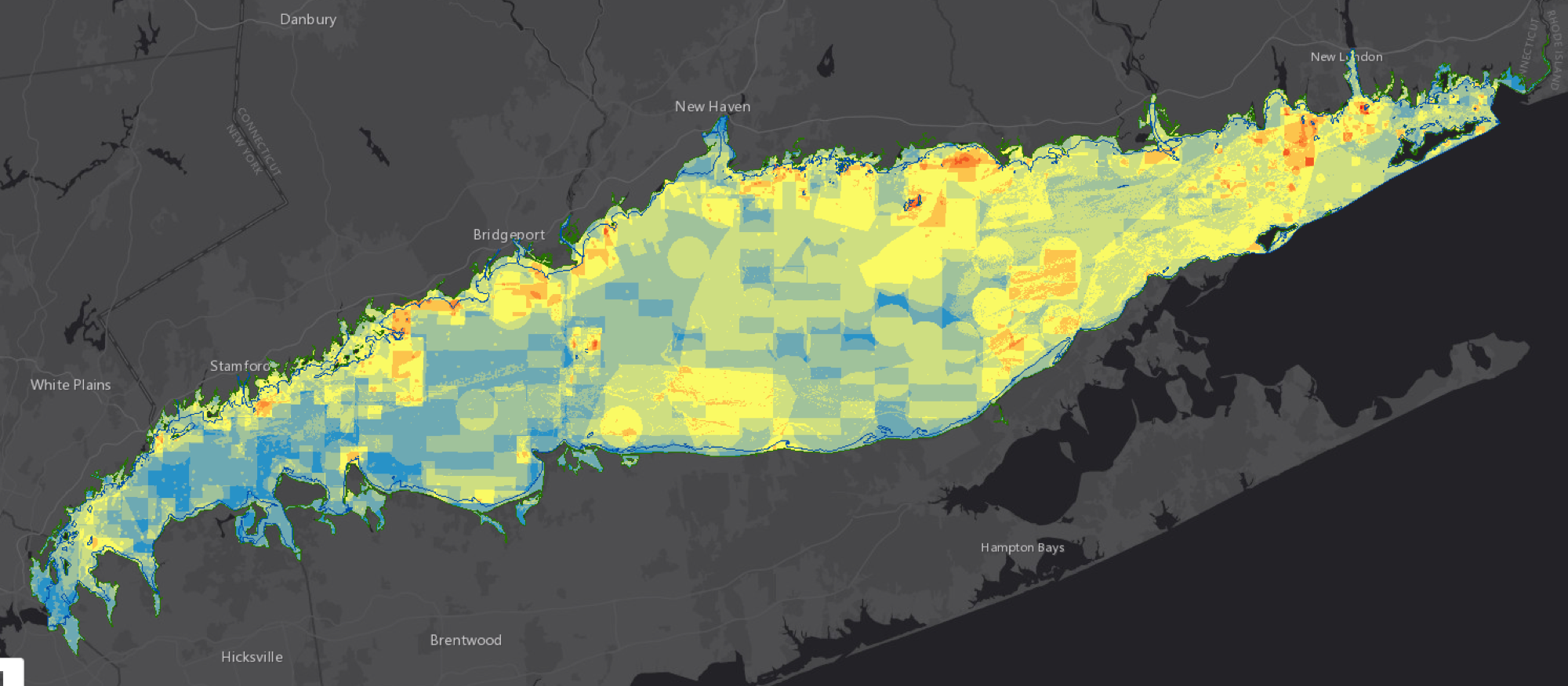 Ecologically Significant Areas for Long Island Sound