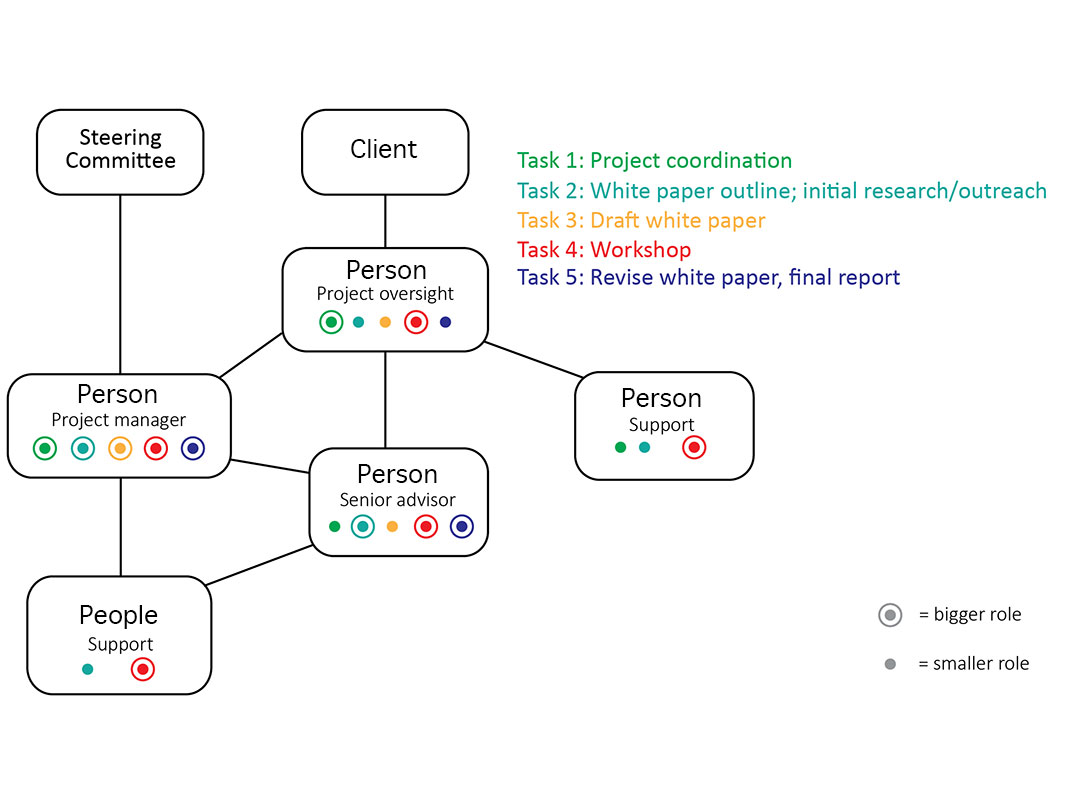 Proposal figure showing project roles